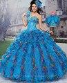 2016 Plissado Princesa Vestidos Quinceanera colorido Vestidos De 15 vestido De Vestidos De Quinceaneras