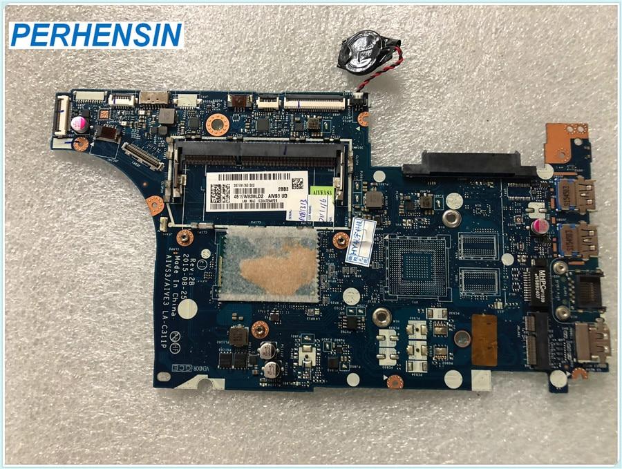 AIVS3 AIVE3 LA-C311P mère d'ordinateur portable Pour lenovo E31-70 13.3 pouce SR23Y i5-5200U Carte Mère 100% TRAVAIL PARFAITEMENT