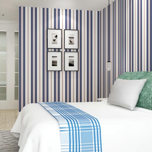 3D Vertikale Streifen Wand Papier Grün Blau Rot Streifen Tapete Für Wände  3D Wohnzimmer Kinder Schlafzimmer
