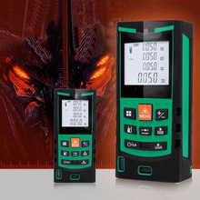 Laser Rangefinder 40M 60M 70M range finder handheld laser rangefinder electronic ruler instrument equipment ruler test tool leter cp 80 80 m laser rangefinder handheld range finder laser ruler built ranging motor