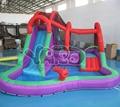 Backyard надувной аквапарк, игры, надувные водные горки, водные горки с бассейном
