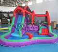 Backyard inflatable water park,inflatable water slide game,water slide with pool
