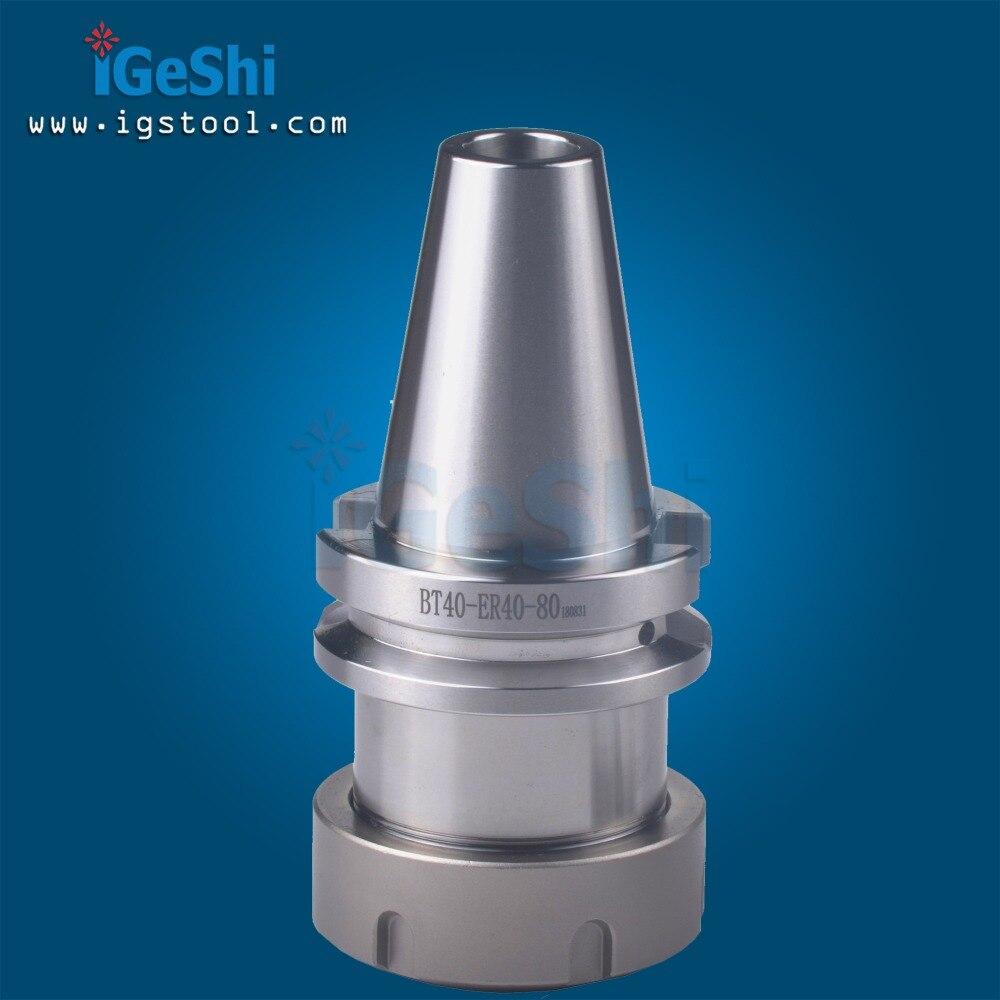 BT40 ER40 80 Collet Chuck CNC Milling Toolholder FOR ER collet ER40 CNC Shank