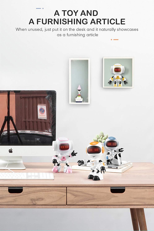 JJRC R8 LUKE Intelligent Robot Touch Control DIY Gesture Talk Smart Mini RC Robot Gift Toy 4