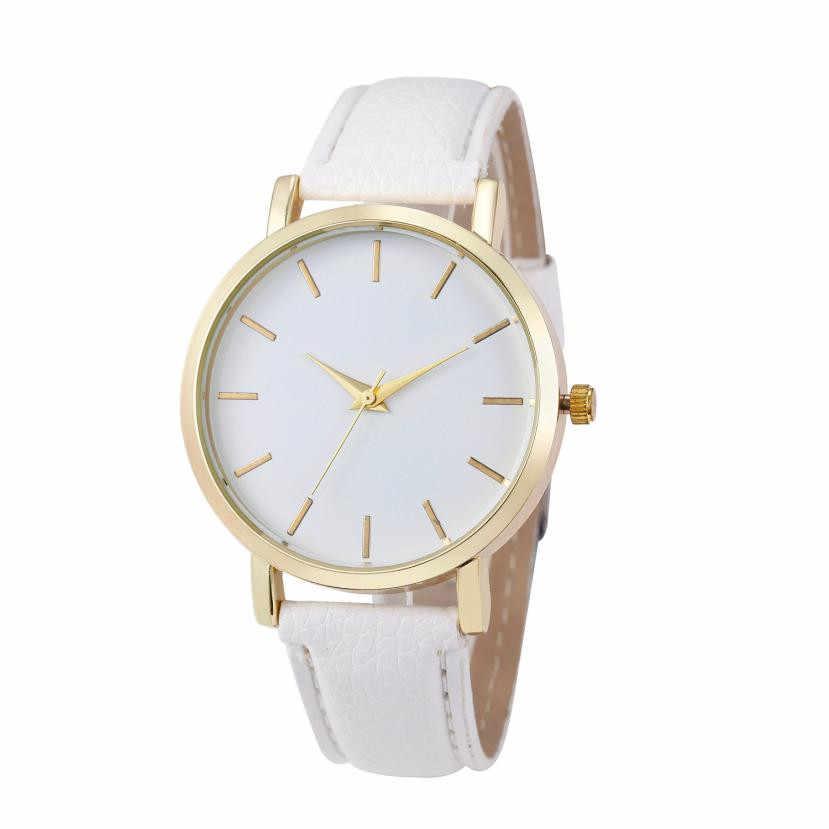 d4b3c7ebfe58 Женские часы лучший бренд класса люкс кварцевые часы мужские женские  знаменитые PU кожаные Наручные часы браслеты