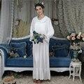 Princess Cotton Sleep Lounge Vintage Night Dress Autumn Arab Women Long <font><b>Nightgown</b></font> <font><b>Sleepshirt</b></font> Sleepwear Dress Nightdress Homewear