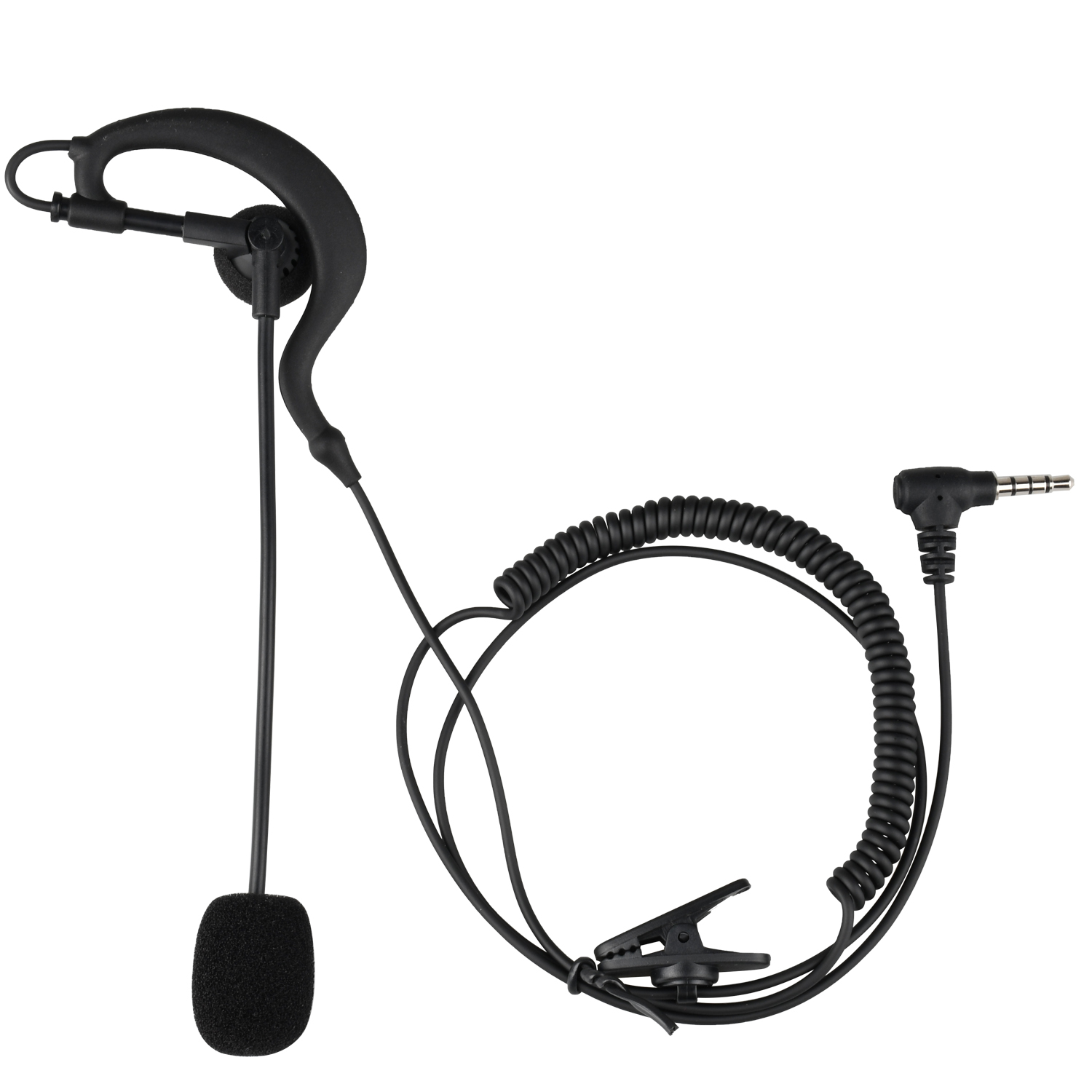 Fodsport V6 V4 Intercom Headset Football Referee Coach Judger Arbitration Referee Bicycle Conference  Earpiece Earphone
