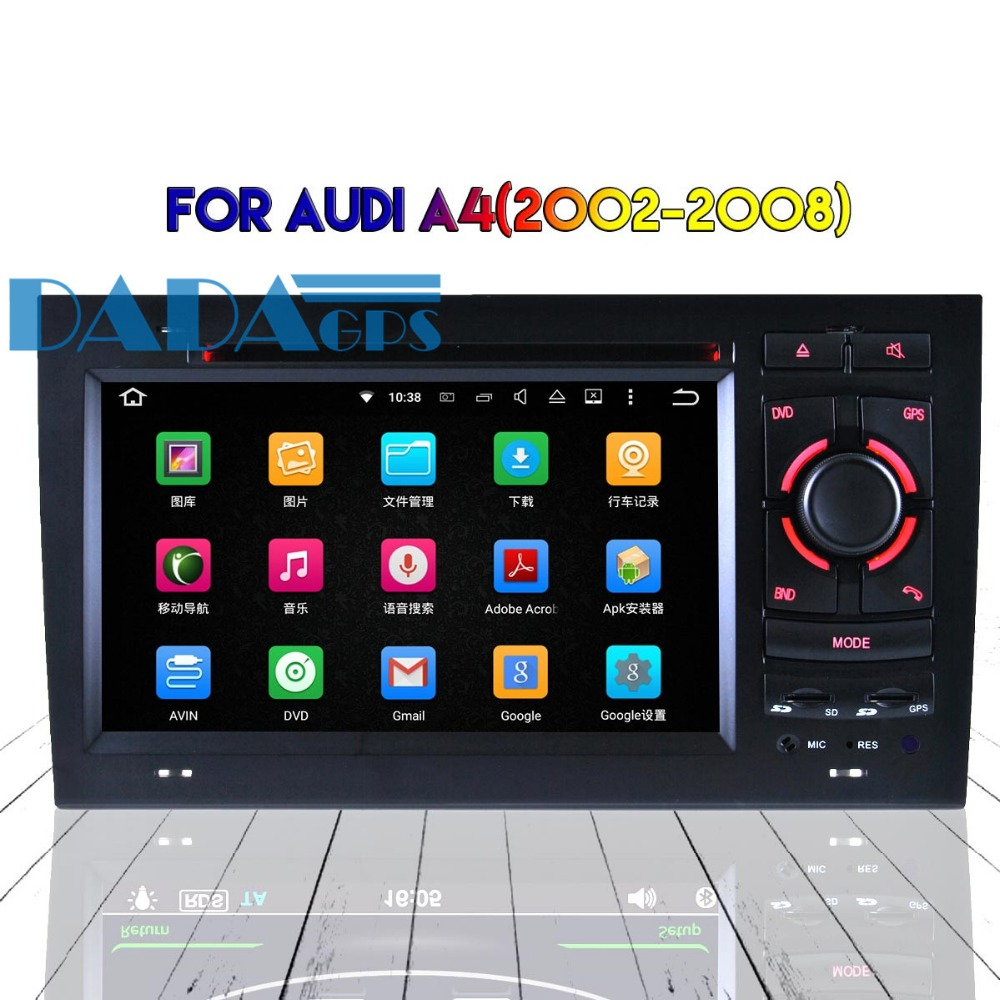 Android 8.0 7.1 Car DVD Player Radio GPS Headunit For Audi