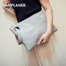 Fashion Women Clutch Bags Solid Leather Envelope Bag Simple Female Evening Party Bag Designer Handbags Ladies Casual Clutches