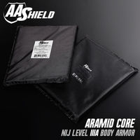 AA Shield Bulletproof Soft Armor Panel Body Armor Inserts Plate Aramid Core Self Defense Supply NIJ Lvl IIIA &HG2 11X14 Pair