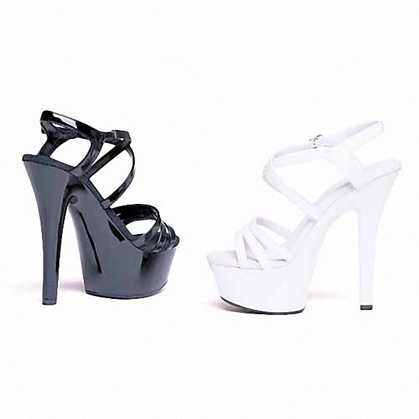 Ultrafine 15cm High-Heeled Shoes Sandals White Bride Wedding Shoes Platform Steel Pipe Dance Shoes 6 inch Sexy Fashion Shoes 15cm sexy high heeled shoes crystal sandals sweet rhinestone sexy shoes bride wedding shoes heels platform stripper shoes