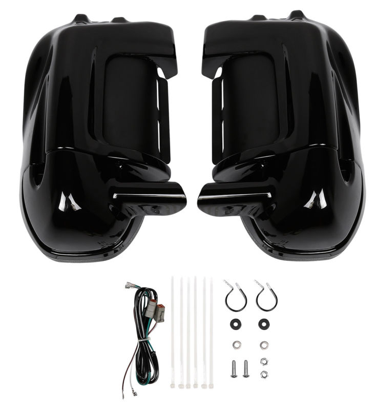 Motorcycle Accessories & Parts Vented Fairing Lower Speaker Kit Adapter Pod For Harley Touring Electra Street Glide Road King Flhtcu Flhr Flhx 1983-13