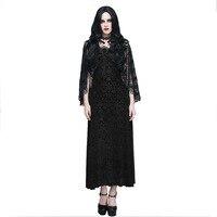Gothic Women S Cocktail Dress With Tassel Shawl Steampunk Sleeveless Lace Prom Fomal Dress Retro Black
