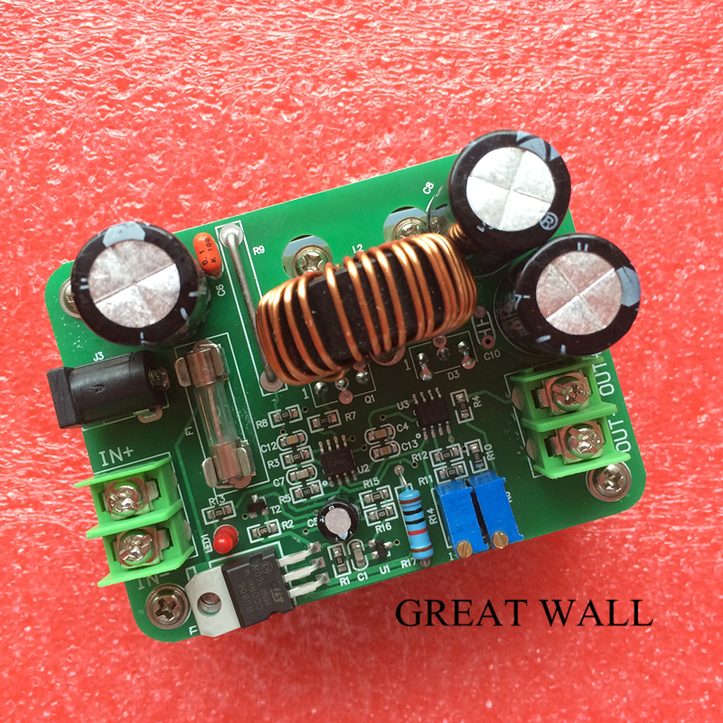 1200W 20A DC Converter Boost 8V-60V to 12V-83V Car Step-up Power Supply Module N