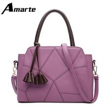 Fashion Ladies Handbag Lychee Tassel Accessories 2 Styles 10 Sewing Thread Stitching PU Bag Shoulder Messenger Tote Bags