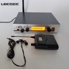 Leicozic Новая беспроводная система монитора EW G3 1 приемник 1 передатчик IEM 300G3 система мониторинга Музыкальные инструменты dj оборудование