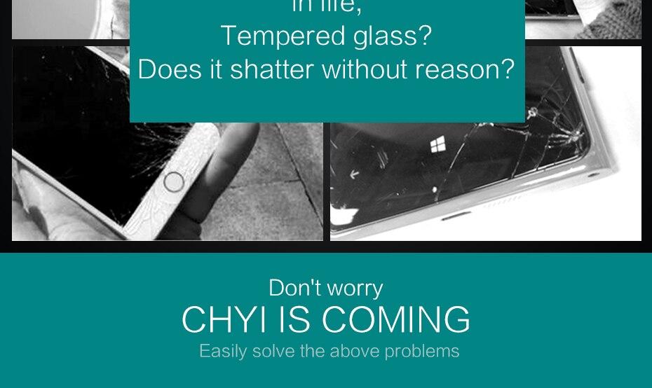 CHYI bez odcisków palców matowe szkło dla iphone 5s SE 5C ochraniacz ekranu oleofobowa powłoka 9 H dla iphone 7 8 plus xs Max XR szkło 10