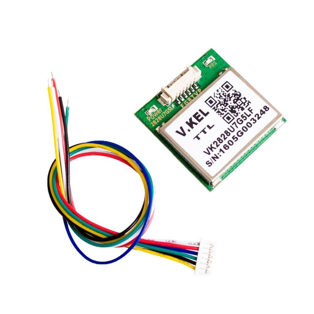 En gros 5 pcs/lot VK2828U7G5LF GPS Module avec Antenne TTL 1-10Hz avec Flash Vol Contrôle Modèle