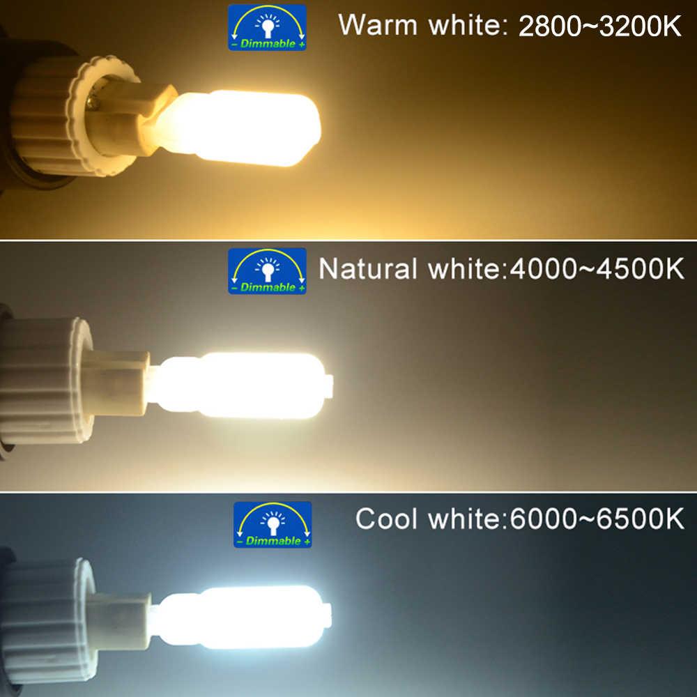 Foxanon Lampada Led G9 LED Lamp 5W 7W 9W Mini LED Bulb Light AC 220V 110V SMD2835 Chandelier Lighting Replace Halogen Lamps