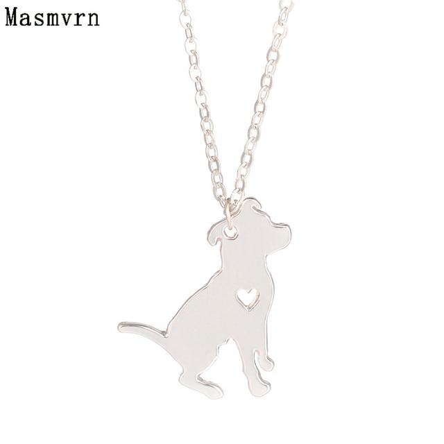 Minimalist jewelry pit bull necklace pitbull custom dog long minimalist jewelry pit bull necklace pitbull custom dog long necklaces dog pendant pets new puppy bijoux aloadofball Gallery