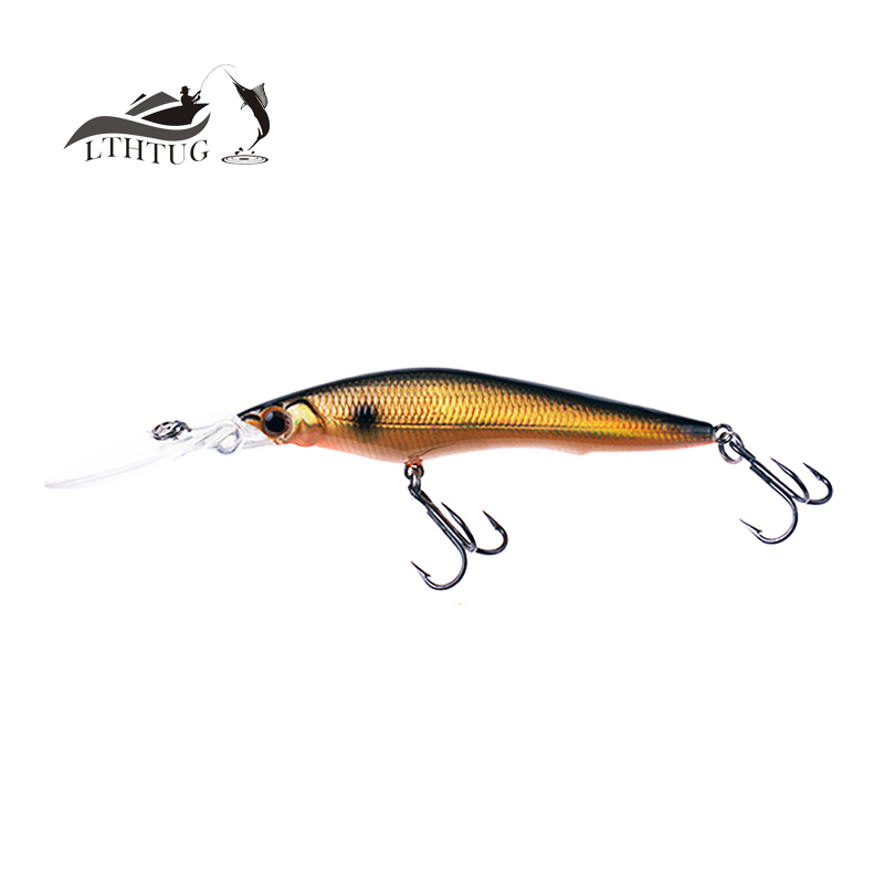 2017 hot sale long tongue sinking minnow 100mm 90mm for Best fishing lures 2017