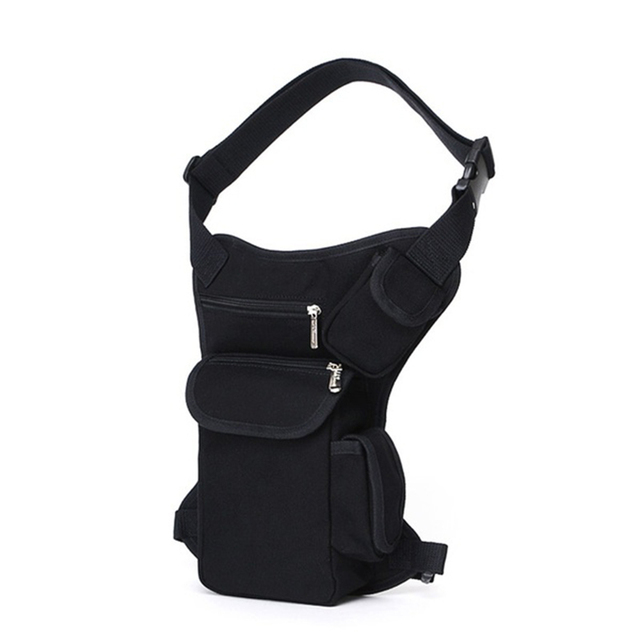 8f651b33d1 Multifunction Outdoor Cotton Sport Leg Bag Canvas Waist Bag Money Belt  Fanny Pack