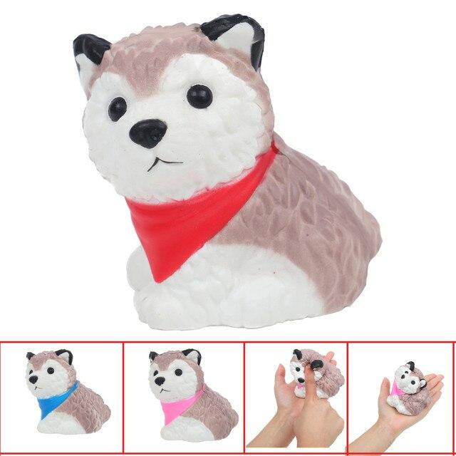 1 pcs Mole Kawaii Brinquedos Pão Perfumado Lento Subindo Bonito Cão Manchado Antistress Antiestresse Animais Brinquedos Fun Kids Brinquedos # k9