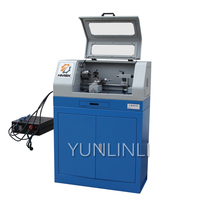 CK0618 Small CNC Lathe 220V 500W Mini Lathe Metal Processing Fully Automatic CNC Woodworking Model Processing Machine
