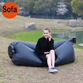 Outdoor Fast Inflatable Lazy Sleeping Sofa Bed Camping Sun Loungers Hiking Travel Hangout Beach Bag Swimming & Rowing Furniture