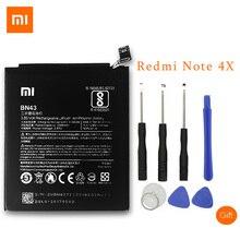 XiaoMi Original Ersatz Batterie Für Xiaomi Redmi Hinweis 4X4 X Kapazität 4000/4100 mah BN43 Handy batterie