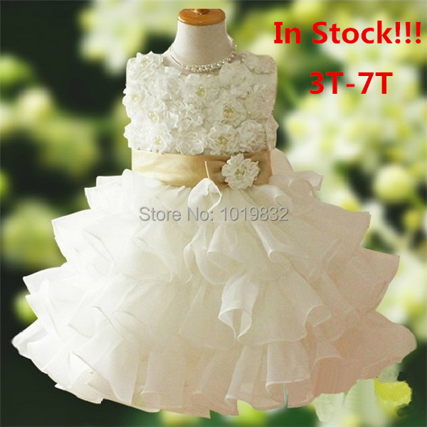 Adorable Children Girl Princess Dress,Girl Pageant Party Dress,Birthday Dresses,,Flower Girl Dress vestido de daminha
