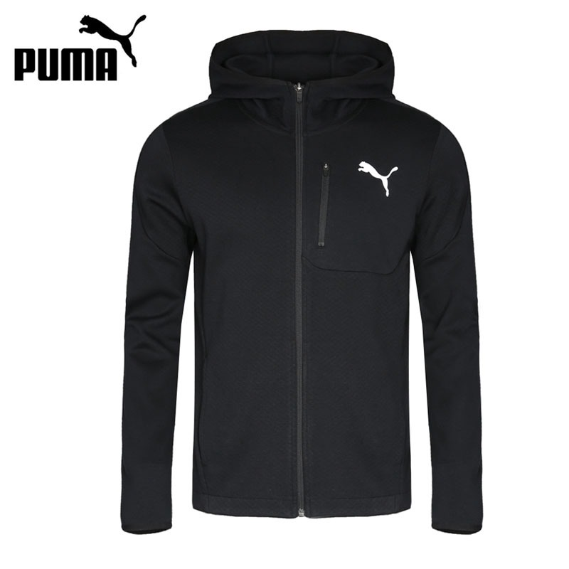 Original New Arrival 2018 PUMA Evostripe Lite FZ Hoody Men's jacket Hooded Sportswear original new arrival 2017 puma evostripe ultimate fz hoody men s jacket hooded sportswear