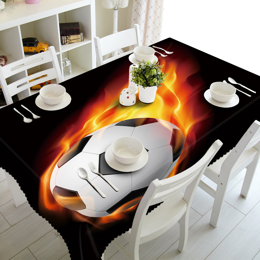 Fireball lightning speed 3d Tablecloth Forest Guardian Unicorn Stereo Tablecloth Tapestry