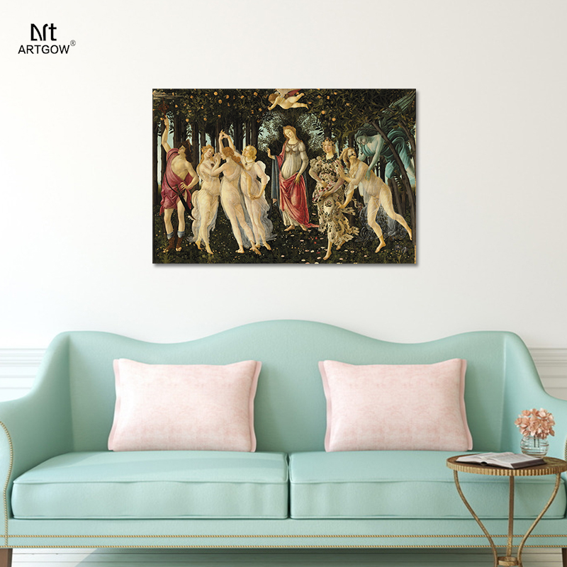 Sandro Botticelli laprimavera Alessandro filipepi primavera salón ...
