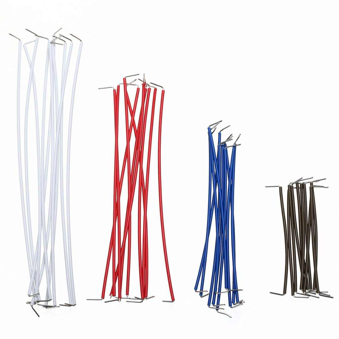 140 шт. 22 AWG набор сплошных проводов набор кабелей без пайки макетная плата перемычка с пластиковой коробкой