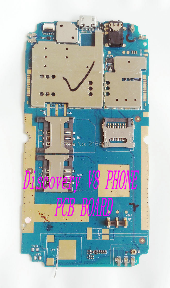 DISCOVERY V8 CELL PHONE PCB board assemble accessories parts for V8 mobile phone