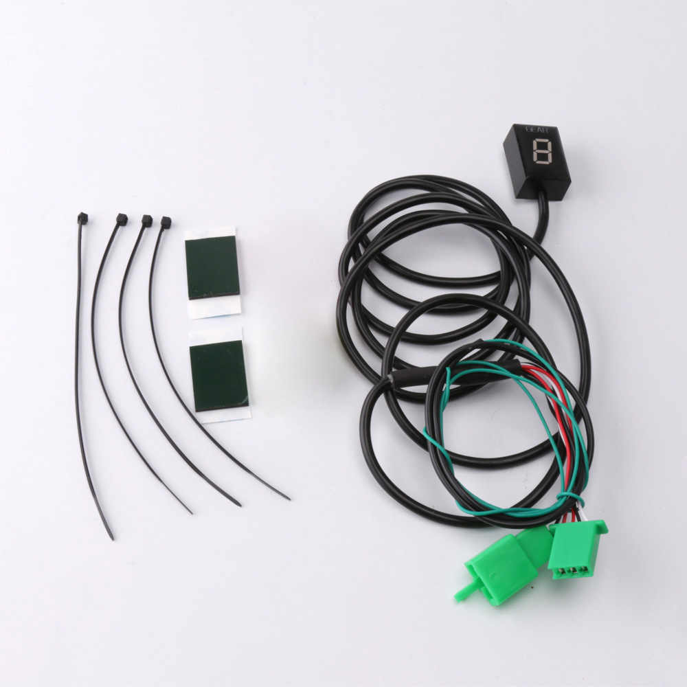 SMOK Motorcycle 1-6 Level Ecu Plug Mount Speed Gear Display Indicator For  Honda CBR600 F4I CBR 600 F4I 2001-2006 2002 2003 2004