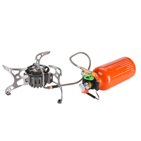 BRS Portable Oil Gas Multi Fuel Stove Outdoor Picnic Backpacking Hiking Camping Gas Stove Gasoline Oven BRS 8