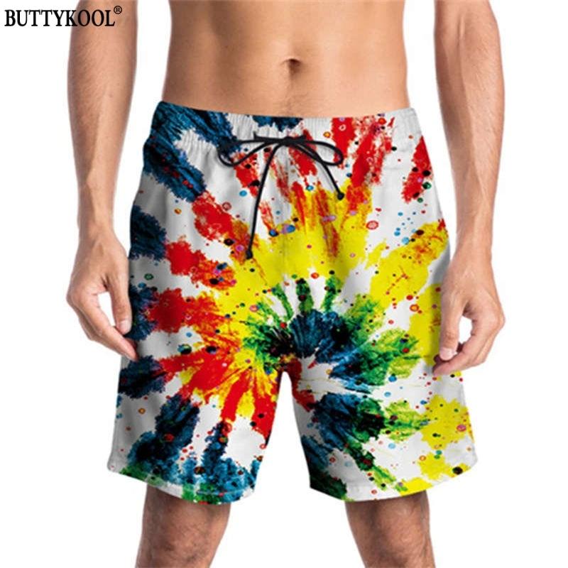 BUTTYKOOL 2018 Mens Casual Beach Short Men Cool Comfort Board Shorts Man Summer Swimwear Pint Shorts Drop shipping