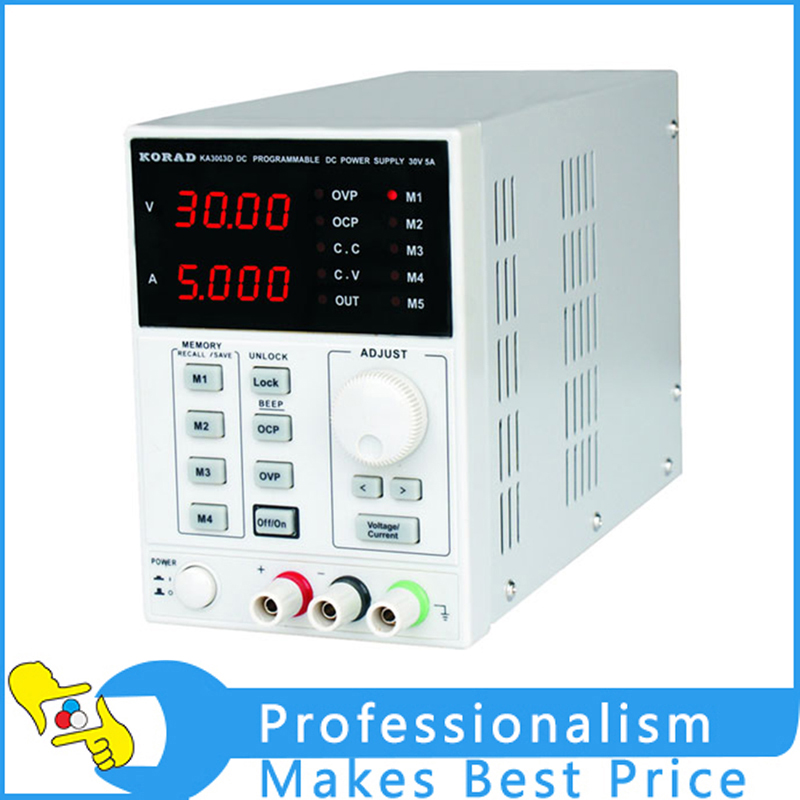 KA3003D 30V/3A High precision 10mV/1mA Programme Digital DC Power Supply for Lab R&D Production Phone repair laboratory power supply ka3005d high precision adjustable digital linear dc power supply 30v 5a 10mv 1ma for laboratory test