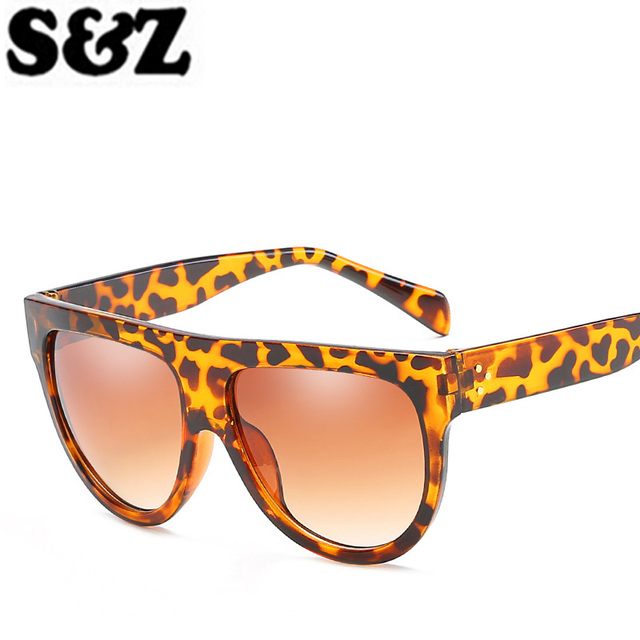 Aliexpress.com: Comprar Forma Clásica de gran tamaño Gafas de Sol de ...