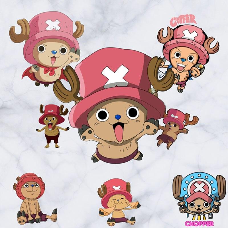 Us 612 25 Off6045cm One Piece Anime Sticker 3d Visual Effect Wallpaper Tony Tony Chopper Stickers Monkey D Luffys Ship Mode Sticker St08 In