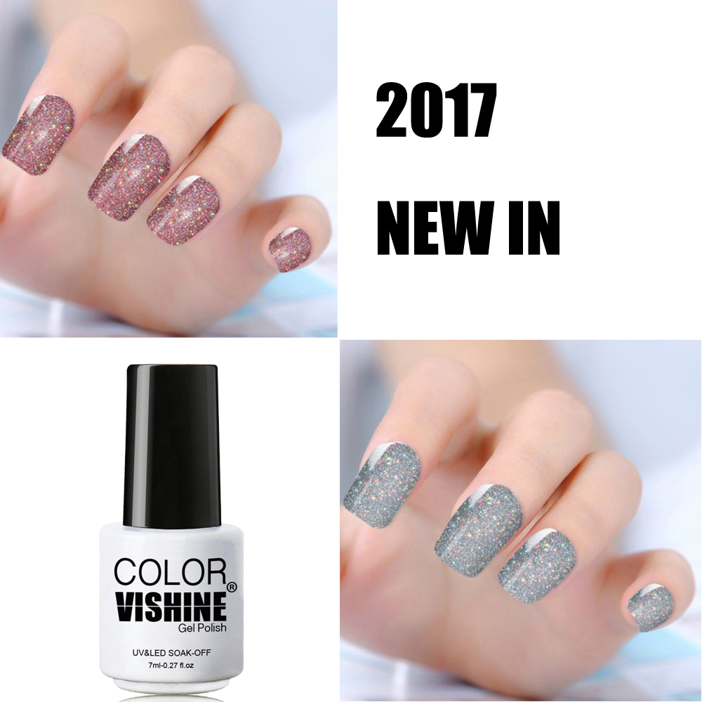 2017 Fashion Neon Nail Gel Polish Soak Off UV LED Colorful