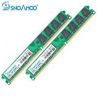 SNOAMOO Desktop PC RAMs DDR2 1 gb RAM 800 mhz PC2-6400S 240-Pin 1,8 v 667 mhz 2 gb DIMM Für ICH Kompatibel Computer Speicher Garantie