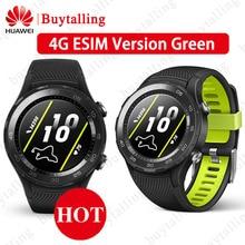 Originale Globale Rom Huawei Orologio 2 Astuto Della Vigilanza Supporto LTE 4G/bluetooth Frequenza Cardiaca Tracker Android iOS IP68 impermeabile NFC GPS
