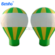 AG010 Free shipping Commercial Event Inflatable Ground Balloon , Inflatable Hot Air Balloon Advertising Ground Ballon