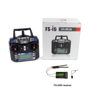 Image 1 - Flysky FS i6 FS I6 2.4G 6ch RC Transmitter Controller FS iA6 or FS iA6B Receiver For RC Helicopter Plane Quadcopter Glider drone
