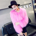 Real fur coats women winter 100% natural raccoon fur pink coat female free shipping fashion color design New Phoenix 1026F