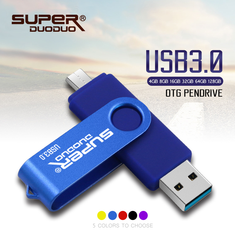 32G 64G 1//2//5 Pack Type-C USB 3.0 OTG Flash Drives For Android Phone Samsung S8