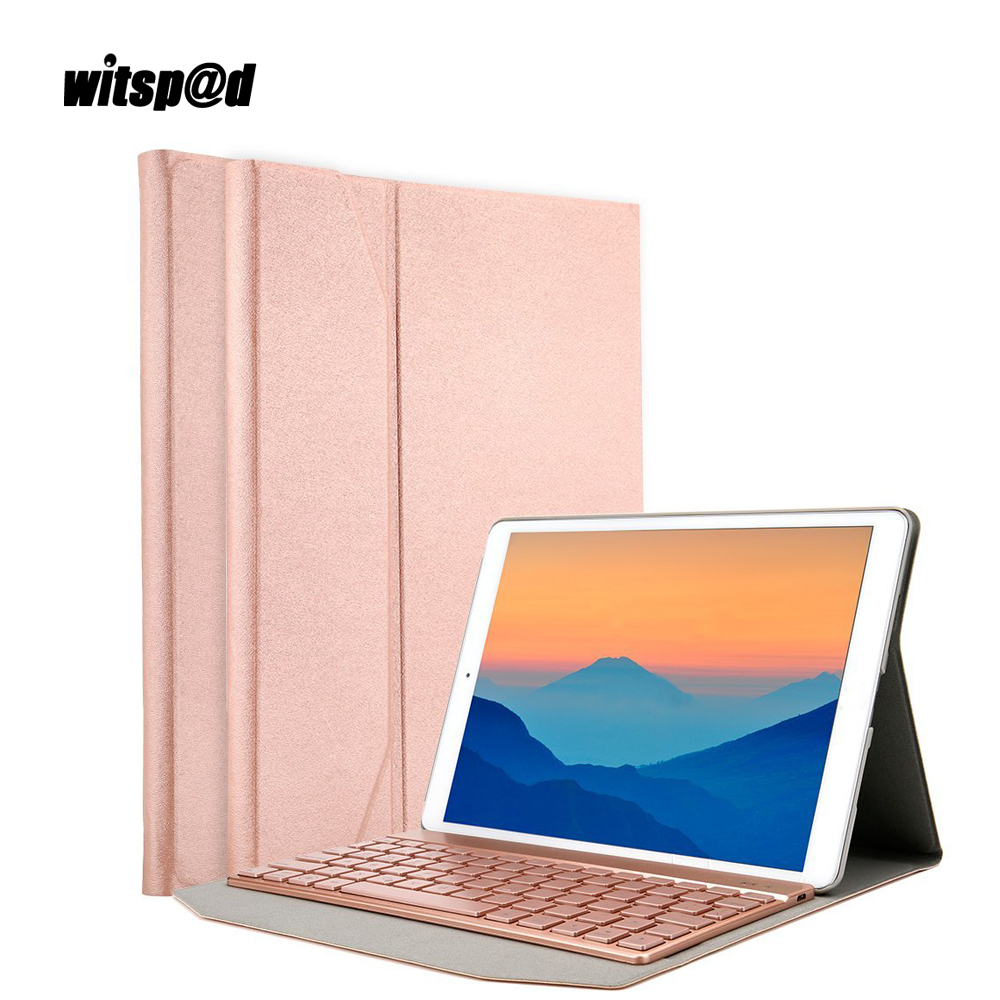 Fashion Luxury Keyboard For iPad Pro 10.5 Cover With Backlit Keyboard Bluetooth Wireless Keyboards For Tablets Assemble Laptop mango mango ma002ewjta43